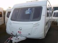 Swift challanger 540 fixed bed touring caravan