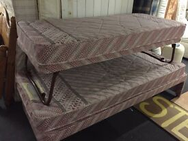 Single, Double and King size beds. Mattress, base And Complete Beds