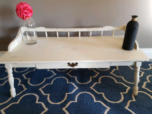 Vintage solid wooden distressed coffee table