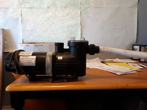 1 hp pool pump,  used for 3 months