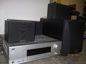 JVC 5.1 Receiver and Kenwood Surround Sound