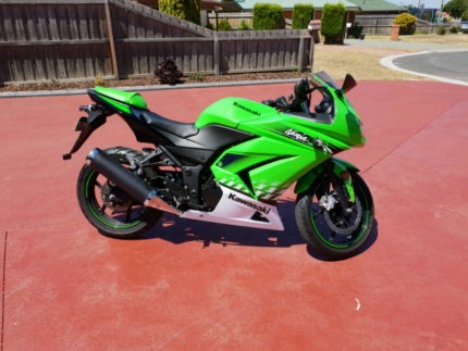 2010 Kawasaki Ninja 250 LAMS Geelong Geelong City Preview