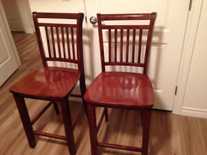 Bar stools for sale in excellent shape!