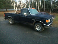 Trade for snowmobile 1991 f150 lariat 4x4
