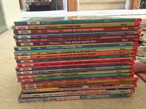 Pokemon Scholastic Books