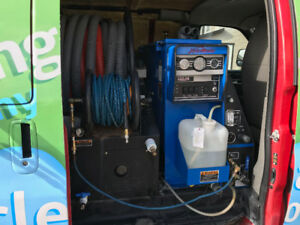 2010 CARPET CLEANING VAN FOR SALE