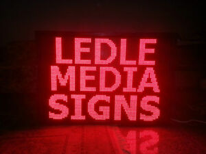 SCROLLING LED SIGN  PROGRAMMABLE