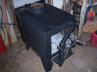 FINNLY CAST IRON WOOD STOVE
