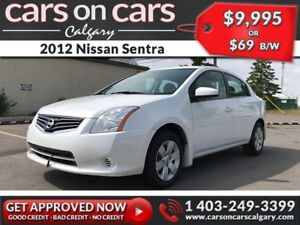 2012 Nissan Sentra $69 B/W INSTANT APPROVAL, DRIVE HOME TODAY!