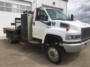 2006 GMC C5500 Topkick Heila knuckle picker truck