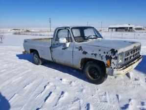1980 gmc Sierra 1500 heavy half 1200.00OBO will consider trades