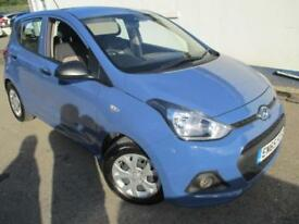 2015 HYUNDAI I10 S AIR BLUE DRIVE HATCHBACK PETROL