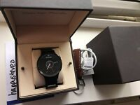 FOR SALE: Huawei W1 Smartwatch Watch, Black Steel Strap and Leather Strap £275