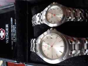 Wenger swiss army his and hers watches