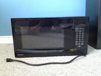 Danby microwave (black) for sale