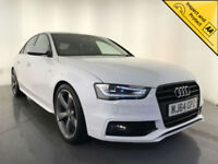 2014 AUDI A4 S LINE BLACK EDITION TDI LEATHER INTERIOR 1 OWNER SERVICE HISTORY