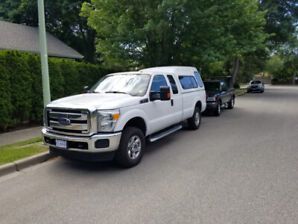 2015 Ford F250 XLT, Supercab, 8 foot box, 60k kms