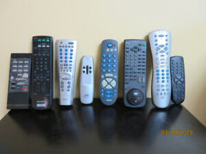 remote control for tv/vcr/dvd