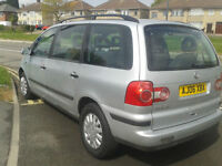 2006 VW SHARAN DIESEL AUTOMATIC .293k .( NOW £750 ono TO CLEAR )