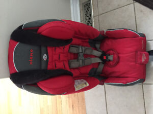 Red diono car seat