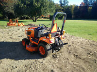 2012 Kubota BX2360 c/w Loader / mower and weight box **270 hr**