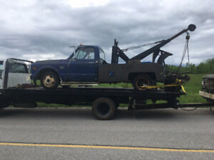 1960s GMC tow truck wrecker body or whole truck