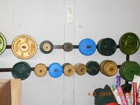 FREE WEIGHTS - $1.00/LB.- WEIDER,YORK, over 1000 LBS.