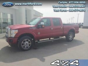 2015 Ford F-350 Super Duty Platinum  - local - one owner