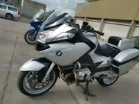 2012 62 BMW R1200RT MU R1200 RT TWIN CAM 1 OWNER EX POLICE SILVER VERY CLEAN