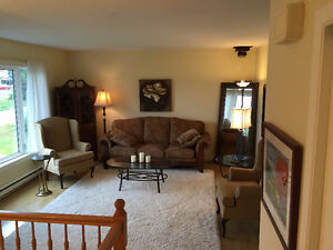 Fully Furnished/Equipped 2 bedroom Main Floor Apartment