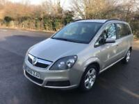 VAUXHALL/OPEL ZAFIRA 1.6 CLUB 7 SEATER PETROL MANUAL BEIGE 5 DOOR MPV 2007