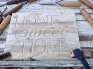 Carved Signs!!! Any size!