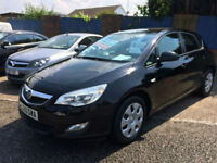 2010 10 VAUXHALL ASTRA 1.4 16V 100 EXCLUSIV 58000 MILES FULL SERVICE HISTORY