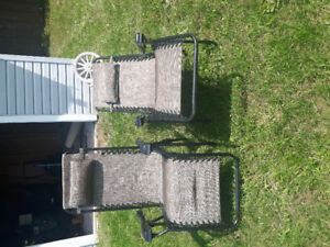 New Patio Lounge Chairs