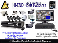 Home security camera system installation- 15yrs in ON