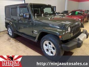 2015 Jeep Wrangler Unlimited Sahara 4X Minty BC Commuter Best Op