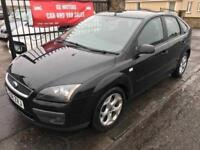 2008 FORD FOCUS ZETEC CLIMATE, 1 YEAR MOT, SERVICE HISTORY, WARRANTY, NOT ASTRA 308 MEGANE GOLF