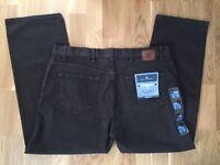 M&S Men Dark Brown Jeans W40 L29