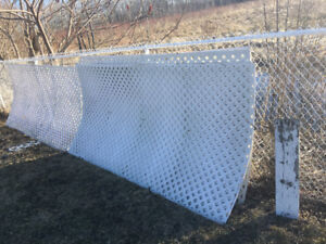 Lattis fence 4x8 x 1 inch holed , 4x8 for sale