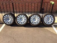 BMW Steel Wheels with Michelin tyres, 205/55 R16
