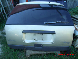 1999 Plymouth / Dodge Van Rear Hatch with Glass