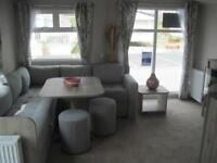 For sale new static caravan holiday home with sandy beach in South Devon