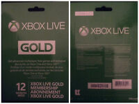Xbox Live 12 Month Gift Card