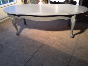 French Provincial Coffee Table Antique