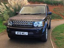 Land Rover Discovery 4 3.0 SDV6 (242bhp) Auto 2010/10 HSE Buckingham Blue