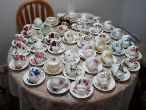 English bone china teacups . $10 each