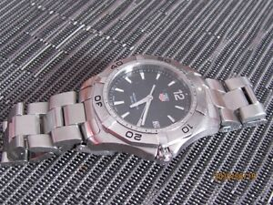 TAG HEUER AQUARACER DIVERS WAF1110 ALL STAINESS STEEL