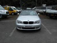 2009/58 BMW 1 SERIES 118I SE 2.0 140 6 SPEED 2 DOOR SPORTS/CONVERTIBLE