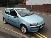 2003 fiat punto 12 months mot 61k from new1.2 8v