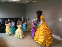 Book Princess Belle to attend your next event!
